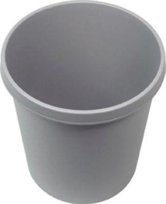 Kunststoff-Papierkorb - Inhalt 18 l, Höhe 320 mm, VE 6 Stk