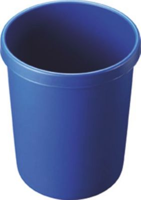 Kunststoff-Papierkorb - Inhalt 45 l, Höhe 480 mm, VE 2 Stk blau,