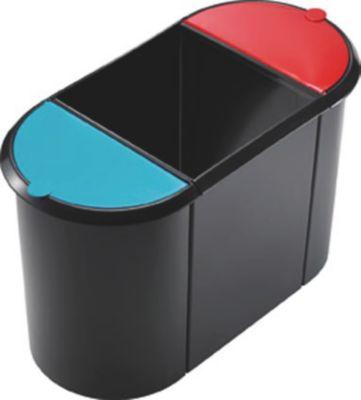 System-Papierkorb - TRIO, 1 großer Behälter ohne Deckel, 2