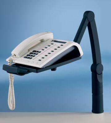Telefonschwenkarm - 360° drehbar schwarz