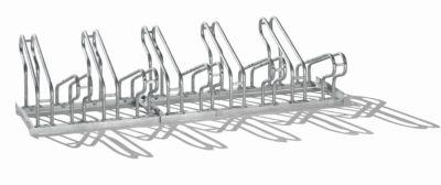 Fahrradständer, Bügel aus Stahlrohr, Radeinstellung