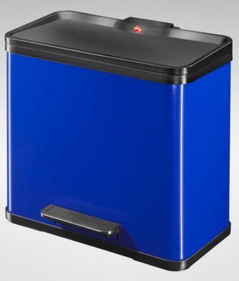 Wertstoff-Tretsammler aus Stahlblech, Höhe 440 mm - Innenbehälter 1 x