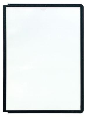Klarsichttafel mit Profilrahmen - für DIN A4, VE 10 Stk