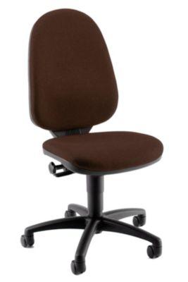 Standard-Drehstuhl - ohne Armlehnen, Rückenlehne 550 mm