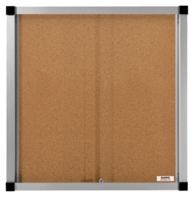 Schaukasten, Schiebetüren - 12 (3 x 4) DIN-A4-Blätter