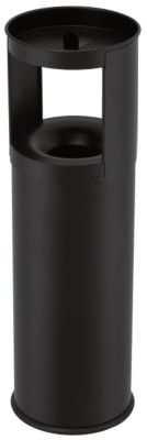 Abfallbehälter, flammverlöschend, mit Ascheraufsatz - Abfallvolumen 25