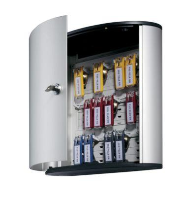 Design-Schlüsselkasten - mit Sicherheitszylinderschloss HxBxT