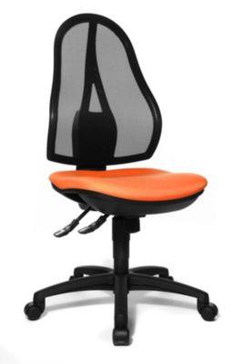 Bürodrehstuhl, Punktsynchron-Mechanik und Bandscheibensitz -
