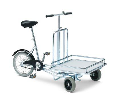Fahrrad MODELL 20 - 3 Räder, mit Ladefläche Klingel und Fußbremse