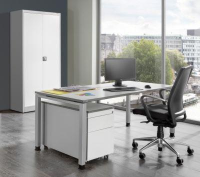 Komplettbüro ARCOS - Schreibtisch, Flügeltürschrank, Rollcontainer mit