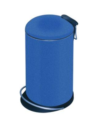Design-Tretabfalleimer - Volumen 14 Liter blau