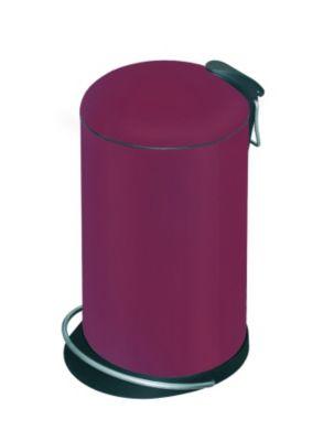 Design-Tretabfalleimer - Volumen 14 Liter rot