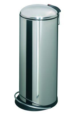 Design-Tretabfalleimer - Inhalt 26 l, Inneneimer aus Stahlblech,