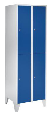 Schließfachschrank mit Füßen - HxBxT 1850 x 600 x 500 mm, 4