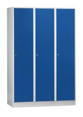 Schließfachschrank mit Sockel - HxBxT 1850 x 1200 x 500 mm, 3