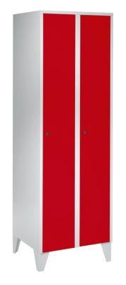 Schließfachschrank mit Füßen - HxBxT 1850 x 600 x 500 mm, 2