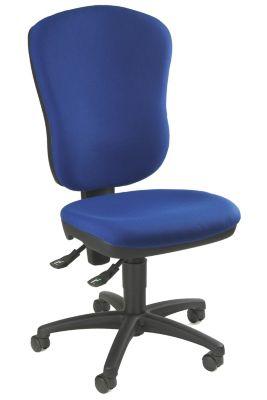 Standard-Drehstuhl - ohne Armlehnen, mit Lendenwirbelstütze
