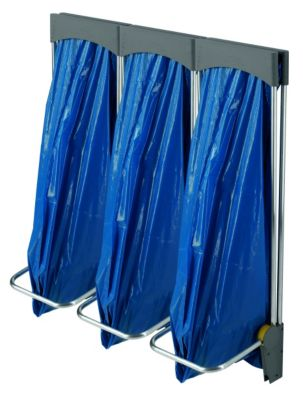 Abfall-Sammel-System PROFILINE ASS 120 - wandhängend 3 x 120 l, mit