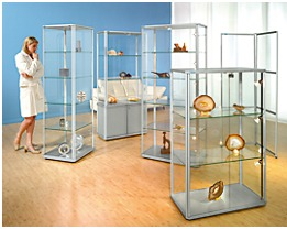 office akktiv Design-Vitrine