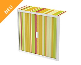 Easyoffice Rollladenschrank COLORFUL STRIPES