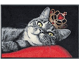 Design Türmatte Royal Cat