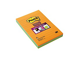 Post-it Haftnotiz Super Sticky Notes 46453SSA sortiert 3 St./Pack.