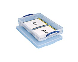 Really Useful Box Aufbewahrungsbox 10C 34x8,5x52cm 10l transparent