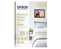 Epson Fotopapier Premium Glossy C13S042155 DIN A4 ws 15 Bl./Pack.