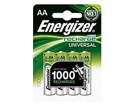 Energizer Akku Recharge Universal 638590 AA/Mignon/HR6 4 St./Pack.