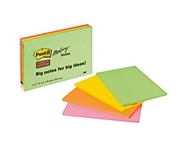 Post-it Haftnotiz Super Sticky Meeting Notes  4 St./Pack.