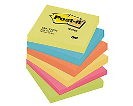 Post-it Haftnotiz Active Collection   sortiert 6