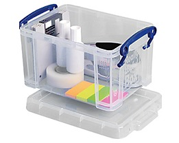 Really Useful Box Aufbewahrungsbox 1.6C 19x11x13,5cm 1,6l transparent