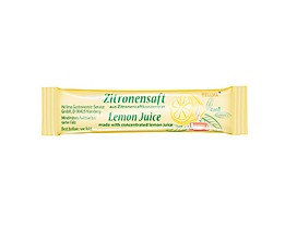 Hellma Zitronensaft Sticks 70101477 4ml 100 St./Pack.