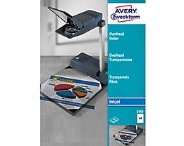 Avery Zweckform Inkjetfolie 2502 DIN A4 transparent 50 St./Pack.