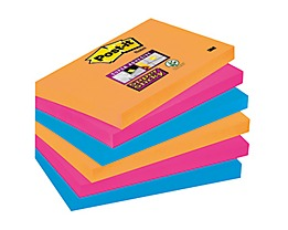 Post-it Haftnotiz Super Sticky  sortiert 6 St./Pack.