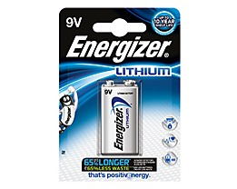 Energizer Batterie Ultimate Lithium L522 9V E-Block