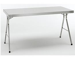 Table pliante en inox - Table inox pliante ...
