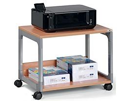 table pour imprimante et de rangement passe partout de durable. Black Bedroom Furniture Sets. Home Design Ideas