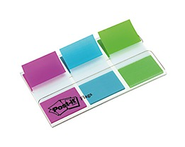 Post-it Haftstreifen Index Standard  20Blatt farbig 3 St./Pack