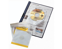 DURABLE CD/DVD Hülle FIX 521019 160x241x6,5mm PP tr 10 St./Pack