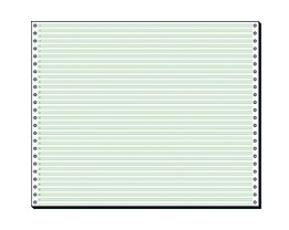 Soennecken Computerpapier 5924 240mmx12Zoll 2.000 Bl./Pack.