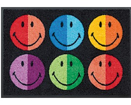 Eingangsmatte Smiley Colours