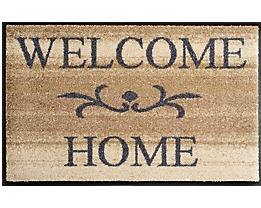Design Fußmatte Welcome Home - von wash and dry