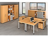 office akktiv RENATUS Regal - HxB 1100 x 400 mm, 2 Fachböden