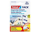 tesa Klebepad Tack  10x10mm transparent  St./Pack