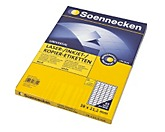 Soennecken Etikett 5755 38x21,2mm weiß 6.500 St./Pack.
