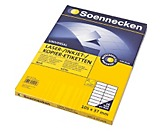 Soennecken Etikett 5764 105x37mm weiß 1.600 St./Pack.