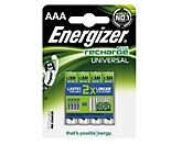 Energizer Akku Recharge Universal 638624 AAA/Micro/HR03 4 St./Pack.