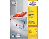 Avery Zweckform Universaletikett 3425 105x57mm weiß 1.000 St./Pack.