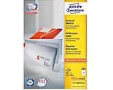 Avery Zweckform Universaletikett 3483 105x148mm weiß 400 St./Pack.
